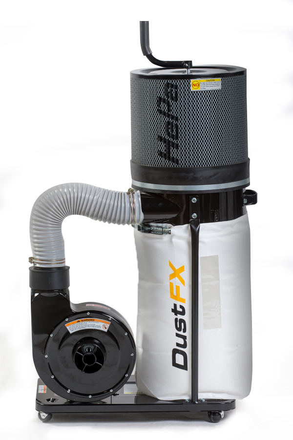 DustFX 1 HP Hepa Dust Collector - CWI Woodworking Technologies