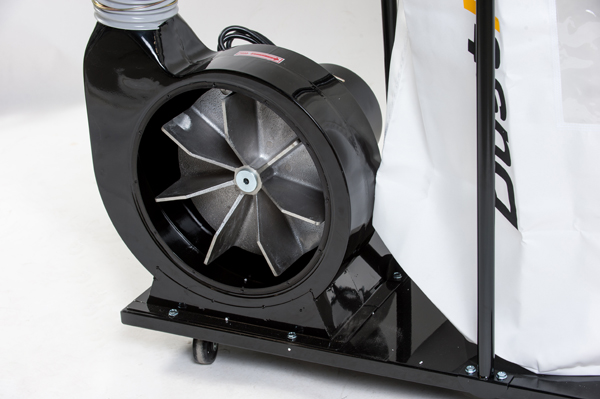Explosion Proof Fan >> DustFX 2 HP Dust Collector - CWI Woodworking Technologies