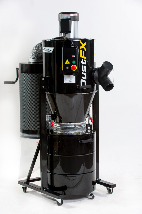 Dustfx 2 Hp Hepa Cyclone Dust Collector Cwi Woodworking
