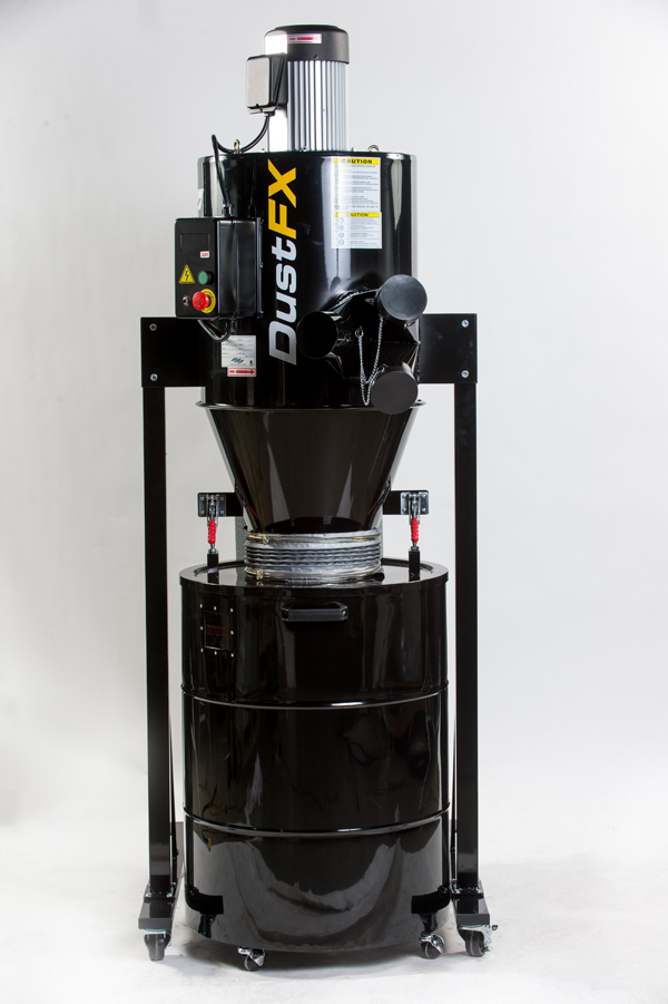 Dustfx 3 Hp Hepa Cyclone Dust Collector Cwi Woodworking