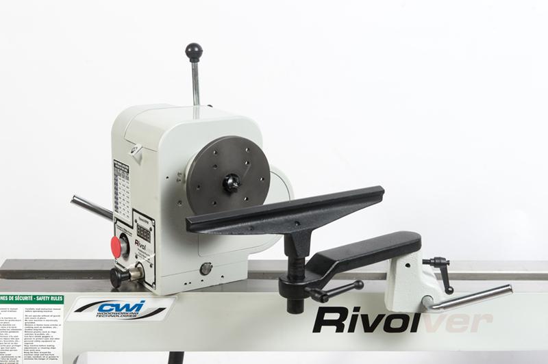 "RIVOLVER 16"" X 42"" V.S. WOOD LATHE - CWI Woodworking Technologies"