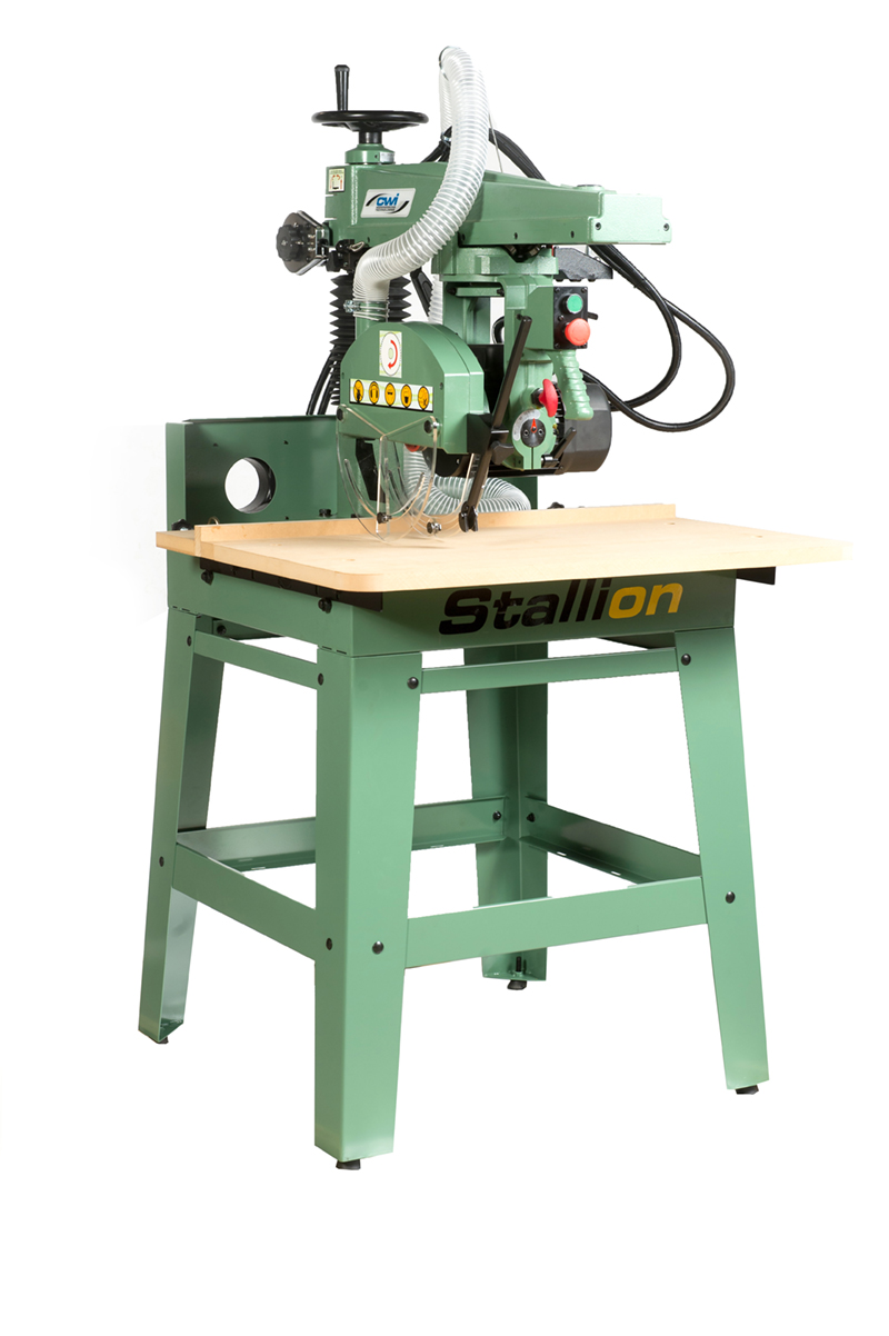 "STALLION 12"" RADIAL ARM SAW - CWI Woodworking Technologies"