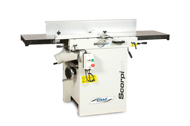Scorpion 16 JointerPlaner with Stinger 5 Row Carbide