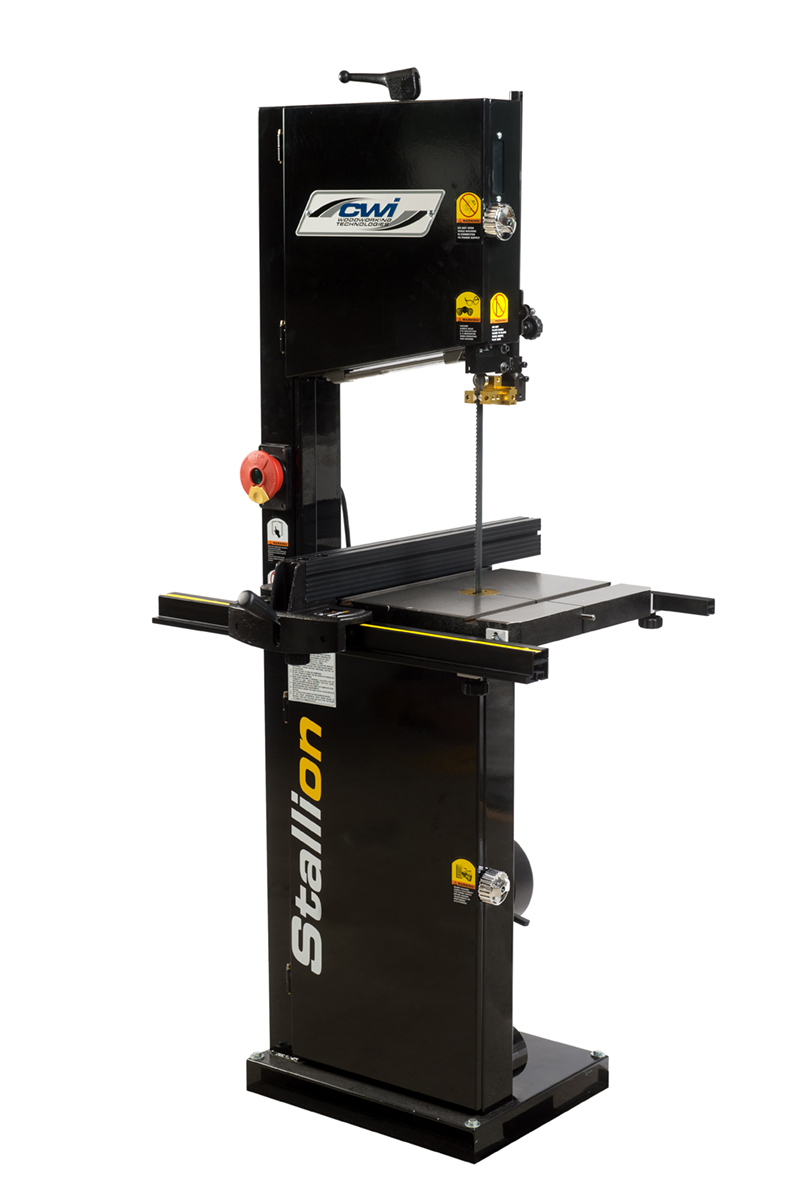 Stallion 14 floor model hp bandsaw cwi woodworking for 12 inch table saws for sale