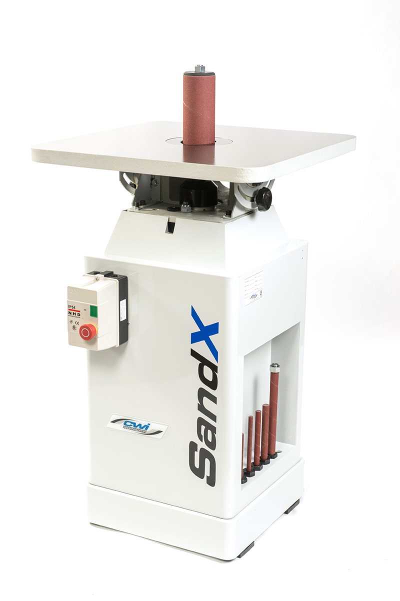 SandX Floor Model Oscillating Spindle Sander