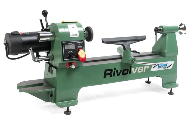 Rivolver 12 x 20 Variable Speed Wood lathe